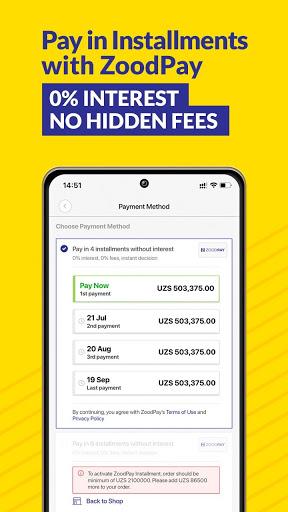 ZoodMall & ZoodPay: Buy now, Pay in Installments apktram screenshots 5
