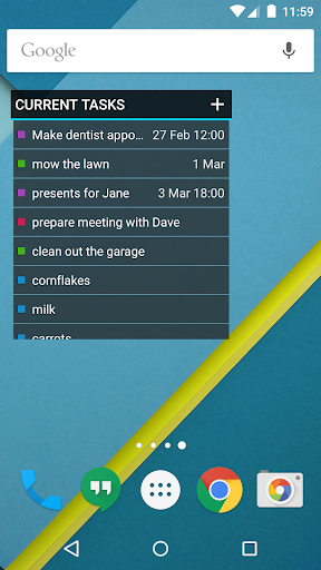 OpenTasks  screenshots 2