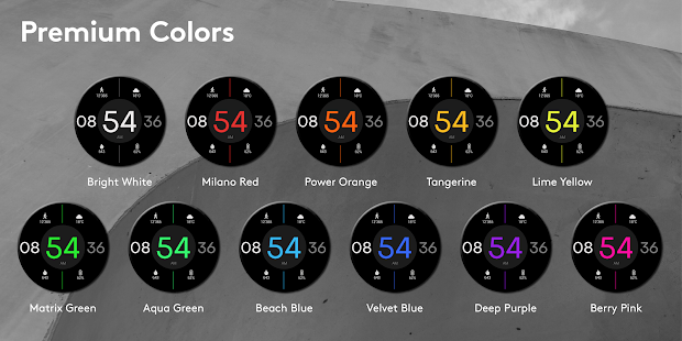 Toggle Watch Face