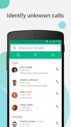 Call Blocker - Calls Blacklist & True Caller ID android2mod screenshots 2