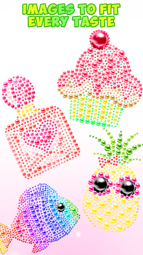 Magnetic Balls Color By Number - Magnet Bubbles android2mod screenshots 4
