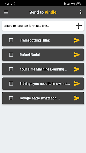 Send To Kindle 1.3.5 screenshots 1