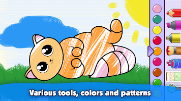 Kids Coloring Book: Drawing & Painting for toddler