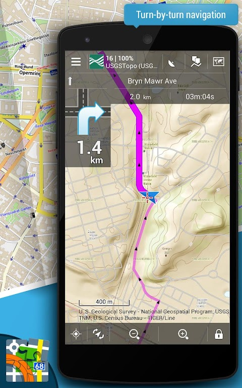 Locus Map Pro - Outdoor GPS navigation and maps  poster 2