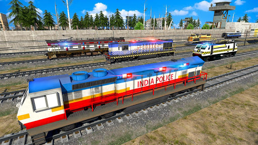 Indian Police Train Simulator apkdebit screenshots 7