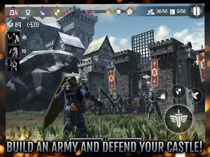 Heroes and Castles 2 - Strategy Action RPG Screenshot