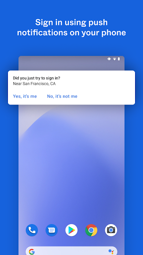 Okta Verify 6.1.1 Screenshots 4