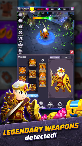 AFK Dungeon : Idle Action RPG android2mod screenshots 6