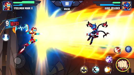 Stickman Heroes Fight – Super Stick Warriors Mod Apk (No Skills/Ultimate) 4