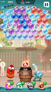 Larva Bubble Pop 1.1.6 screenshots 4