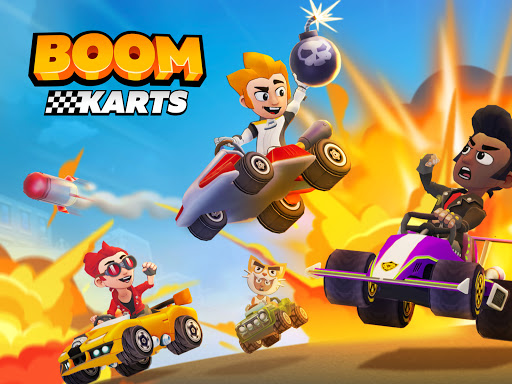 Boom Karts - Multiplayer Kart Racing apkpoly screenshots 12
