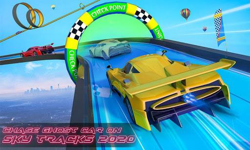 Extreme Stunts Car Chase Ramp GT Racing Car Games screenshots 1