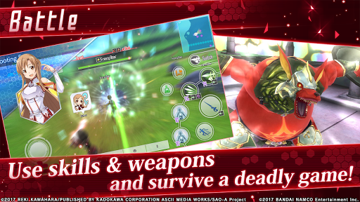 Code Triche Sword Art Online: Integral Factor (Astuce) APK MOD screenshots 2