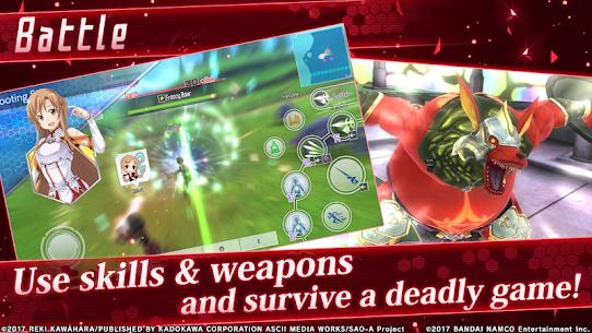 Sword Art Online: Integral Factor Mod 1.8.2 Apk [God Mod] 2