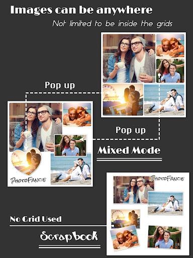Collage Maker (Layout Grid) - PhotoFancie  screenshots 9