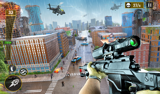 Real Sniper Shooter: FPS Sniper Shooting Game 3D 55 Screenshots 10