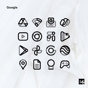 Aline Black icon pack – linear black icons v1.0 [Patched] 5