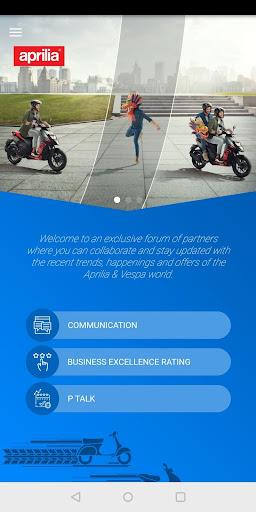 vespa & aprilia partner connect screenshot 3