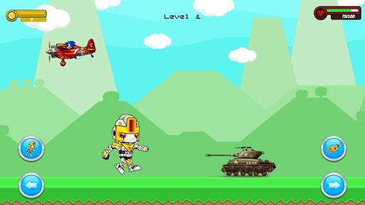 Shooter Robot : Plane , Tank Shooting  screenshots 3