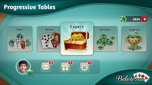 Belote.com - Free Belote Game 2.1.5 screenshots 5
