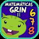 Matemáticas con Grin II 678 multiplicar fracciones