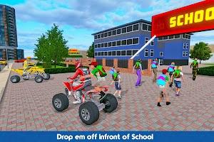 ATV Bike Taxi – School Transport