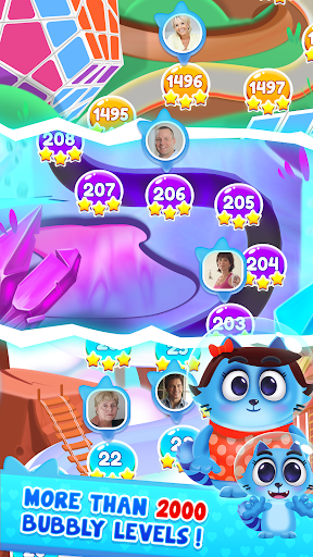 Space Cats Pop - Kitty Bubble Pop Games apkmr screenshots 5