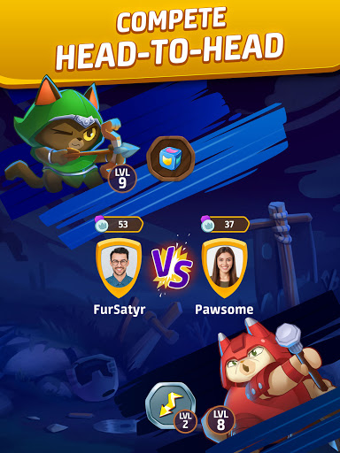 Cat Force - PvP Match 3 Puzzle Game  screenshots 14