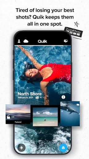 GoPro Quik: Video Editor & Slideshow Maker  screenshots 1