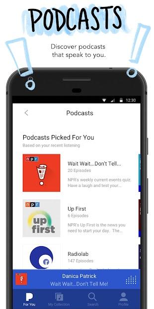 Pandora - Streaming Music, Radio & Podcasts screenshot 3