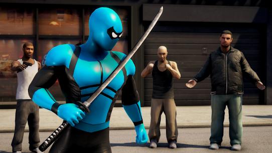 POWER SPIDER v3.1 MOD APK – Ultra Superhero Parody Game 2