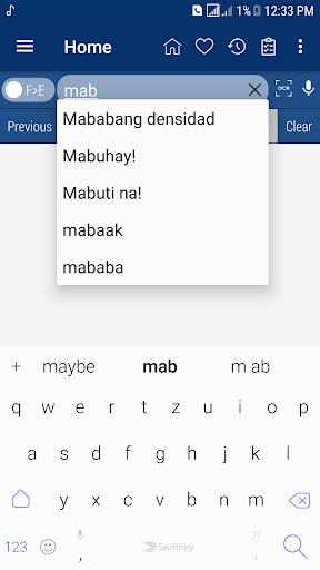 English Filipino Dictionary inn Screenshots 4