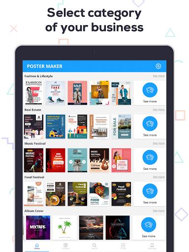 Poster Maker 2021 - Create Flyers & Posters  Screenshots 11