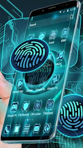 Tech Fingerprint 3D Launcher For Pc (Download For Windows 7/8/10 & Mac Os) Free! 2