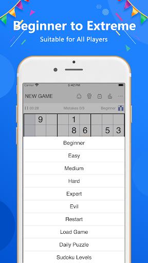 Sudoku - Classic free puzzle game 1.9.2 screenshots 3