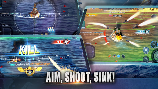 Warship Rising - 10 vs 10 Real-Time Esport Battle 5.7.2 screenshots 5