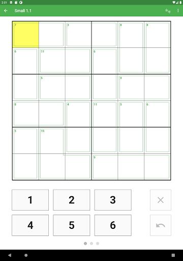Killer Sudoku 2.1.7 screenshots 12