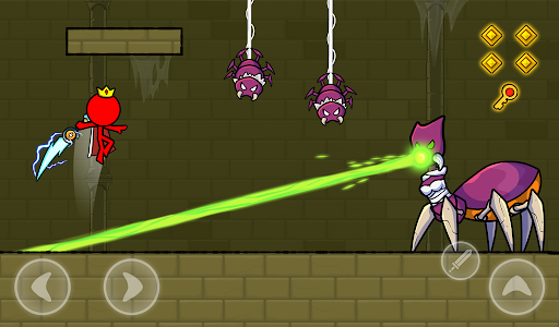Red Stickman : Animation vs Stickman Fighting android2mod screenshots 17