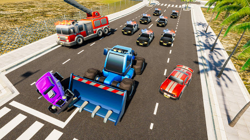 Mini Car Games: Police Chase  screenshots 16