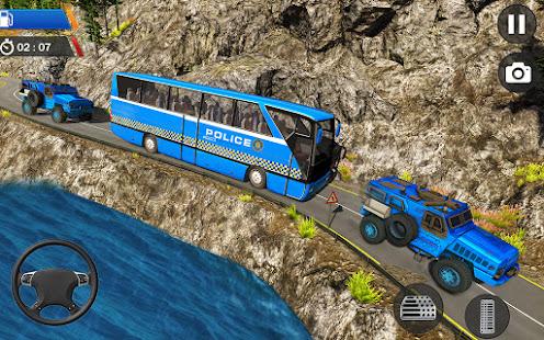 Police Plane Transport: Cruise Transport Games 1.12 Screenshots 12