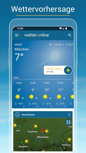RegenRadar - mit Unwetterwarnung apktram screenshots 2