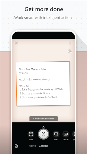 Microsoft Lens - PDF Scanner android2mod screenshots 4