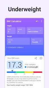 BMI Calculator PRO (MOD, Paid) v2.2.5 5