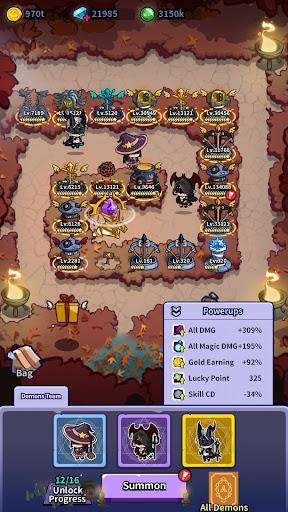 Idle Defense: Dark Forest  screenshots 6