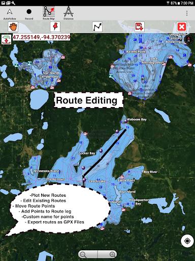 i-Boating:Marine Navigation Maps & Nautical Charts modavailable screenshots 12