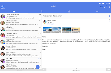TypeApp mail - email app Screenshot
