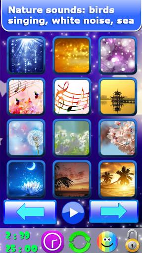 Baby sleep sounds: white noise, nature 2.2 Screenshots 7