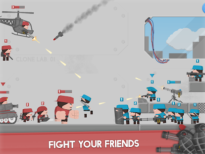 Clone Armies: Tactical Army Game Screenshot