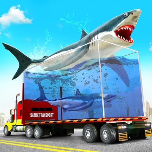 Laut haiwan simulator memandu trak