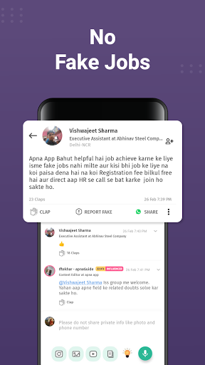 apna: Job Search India, Vacancy Alert, Online Work apktram screenshots 5